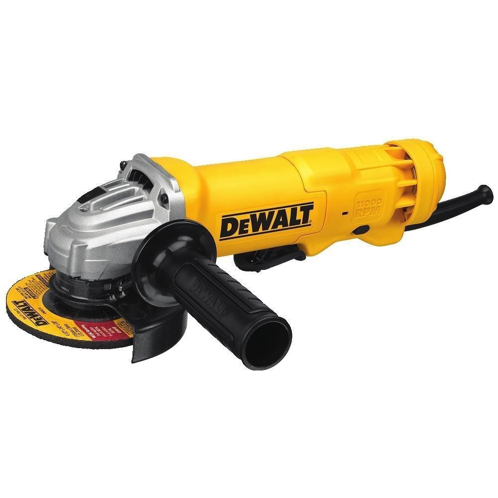 DEWALT DWE402 4-1 2-Inch 11-Amp Paddle Switch Angle Grinder